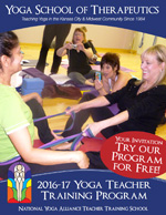 Yoga Teacher Training Catalog Download